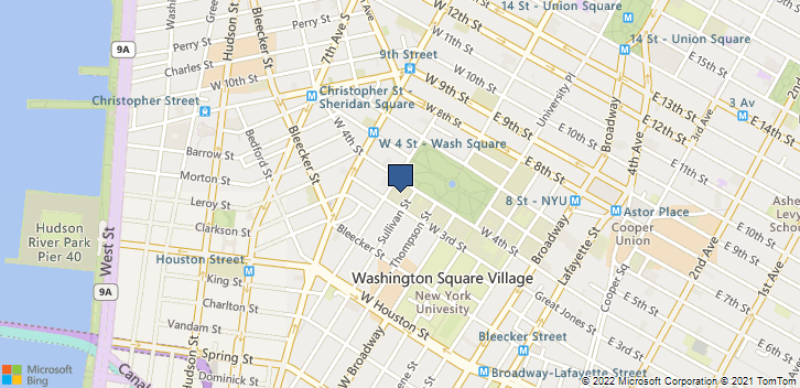 40 Washington Square South, New York, NY, 10012 Map